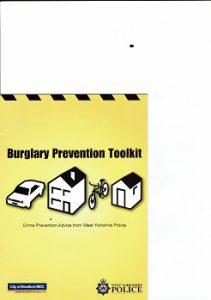 Police advice on burglary